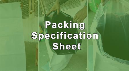 paking sheet